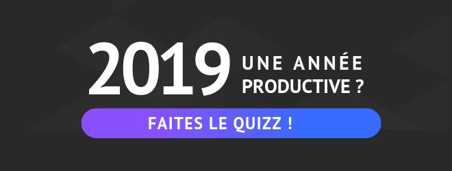 quizz 2019 - productivité
